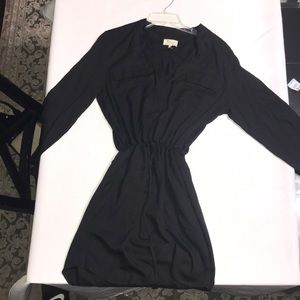 Lou & grey medium black dress.